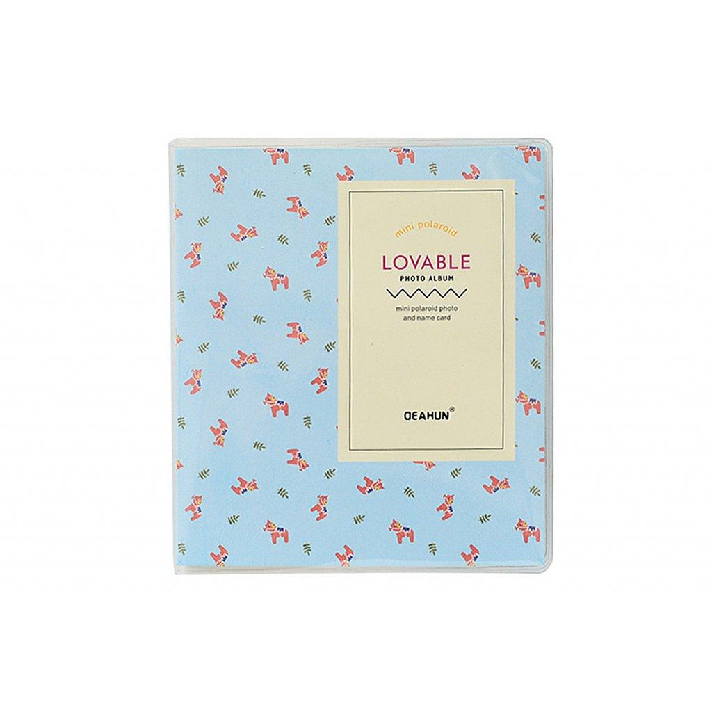 Instax Mini Pocket Album Colorful Light Blue