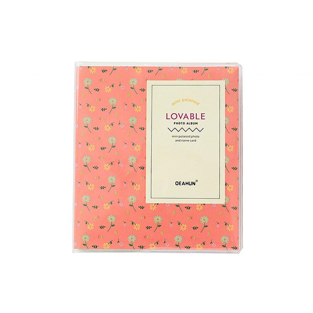 Instax Mini Pocket Album Colorful Orange