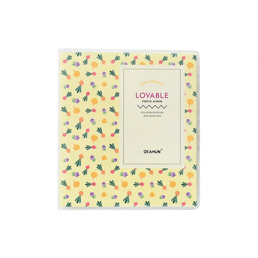 Instax Mini Pocket Album Colorful Yellow