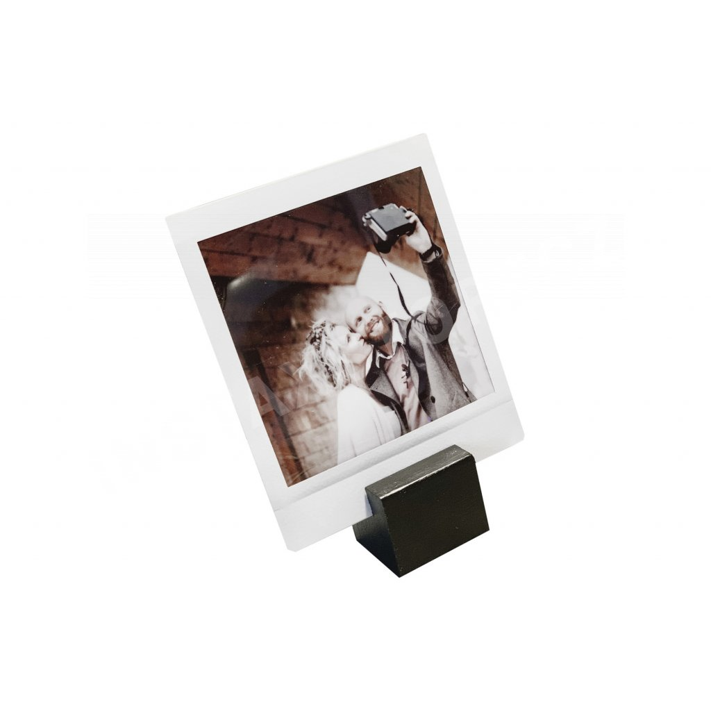 Focus Picture Stand Small Black