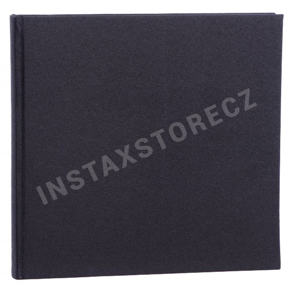 Focus Base Line Canvas Album 26x25 Black