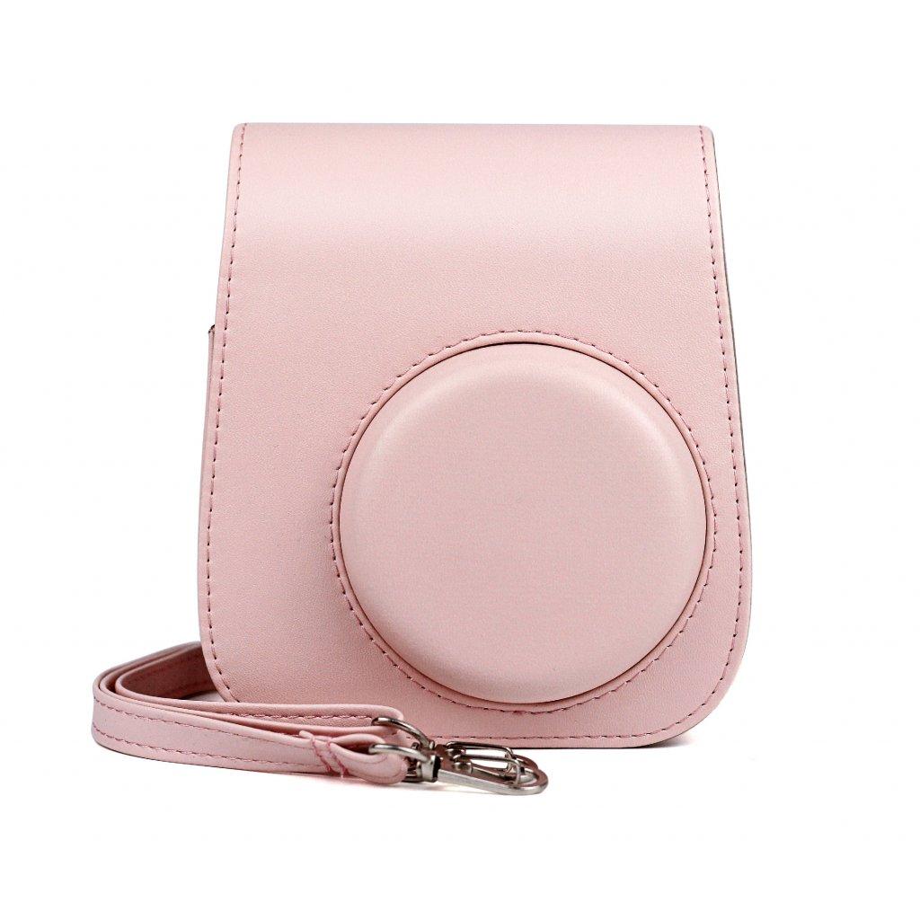 Fujifilm Instax Mini 11 Case Leather Blush Pink