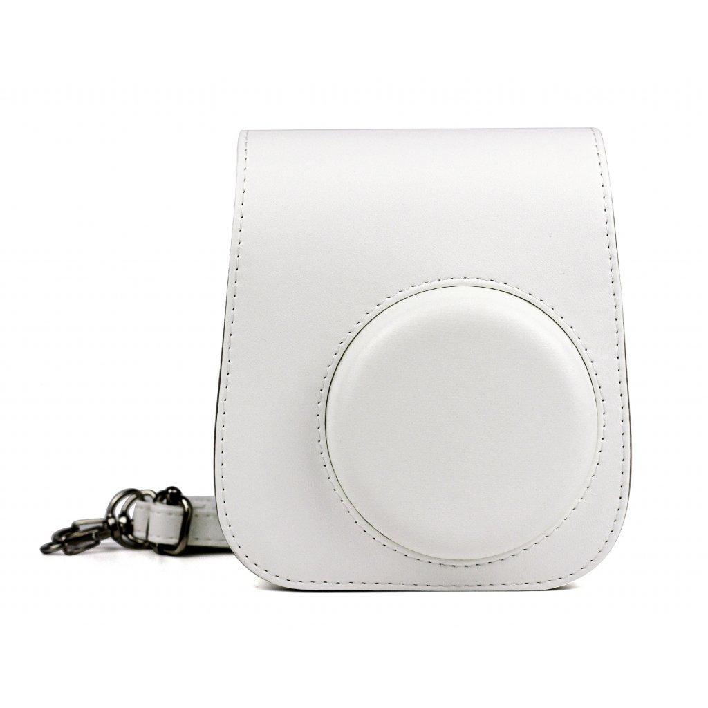 Fujifilm Instax Mini 11 Case Leather Ice White