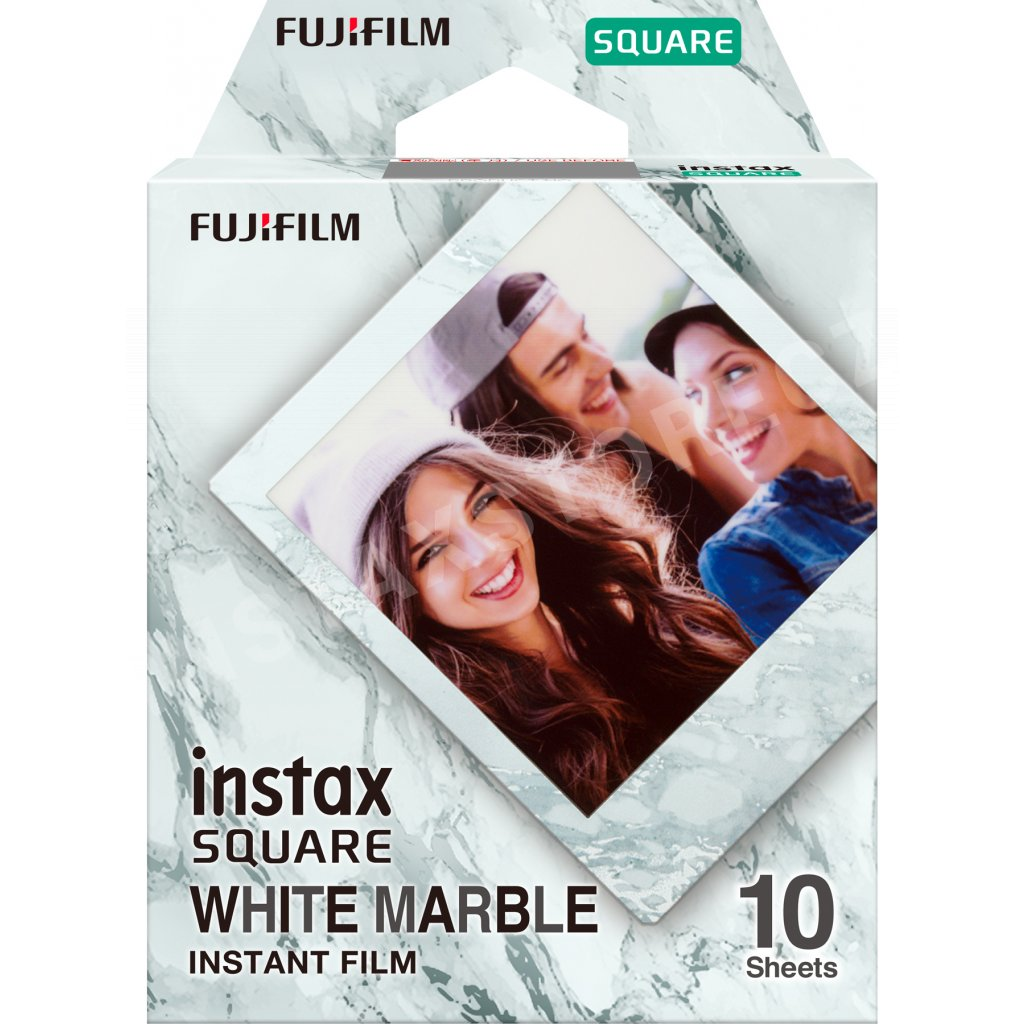Fujifilm Instax Square film 10ks White Marble