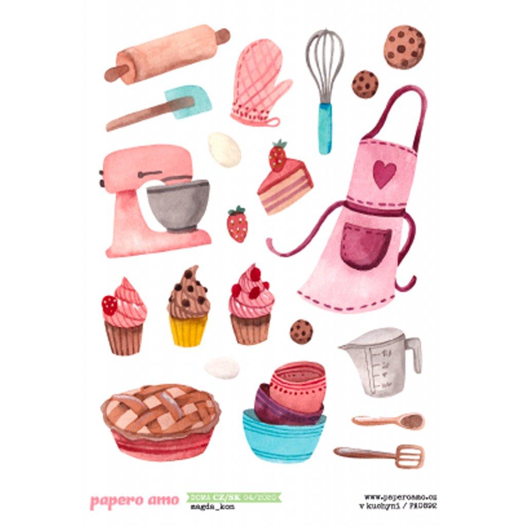 Papero amo - Samolepky arch - DOMA / V kuchyni