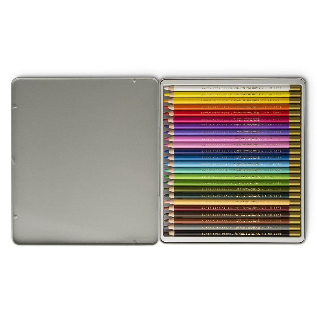 PrintWorks Color Pencils Classic 24pcs Set