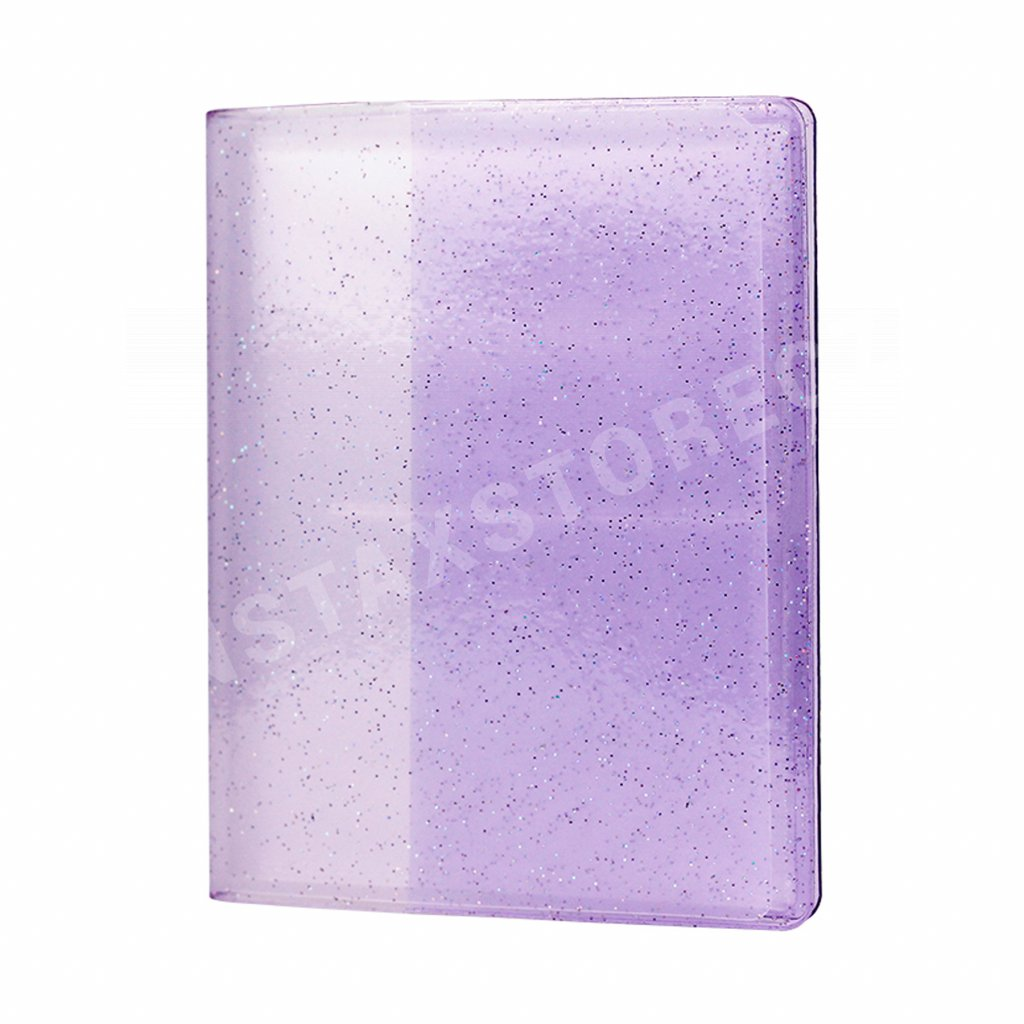 Instax Mini Pocket Album Glitter Clear Lilac