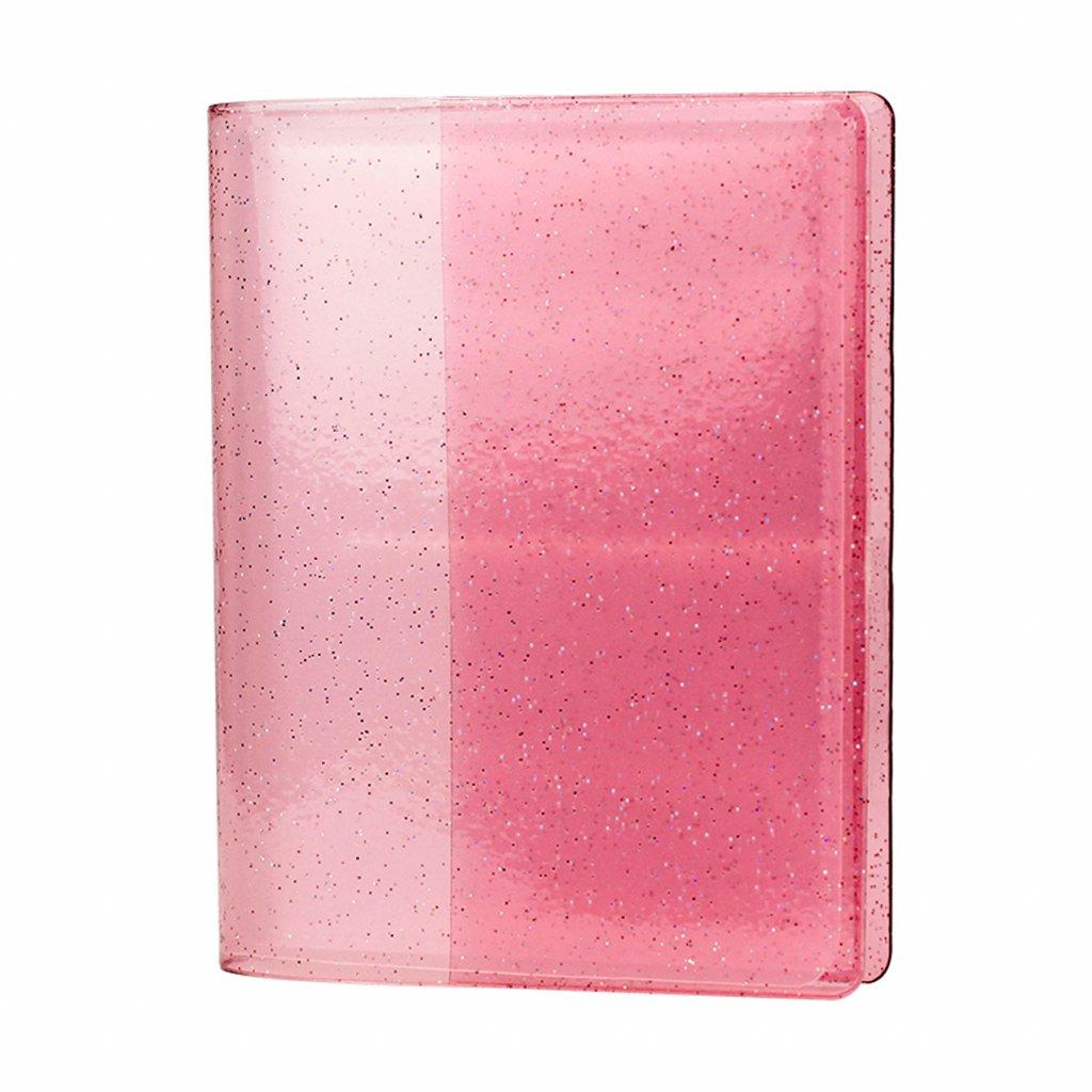 Instax Mini Pocket Album Glitter Clear Pink
