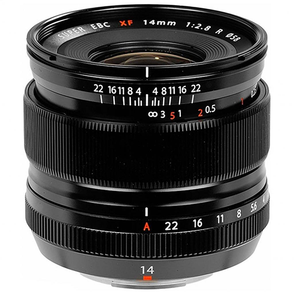 Fujifilm Fujinon XF 14mm F2,8 R Black (objektiv X-mount)