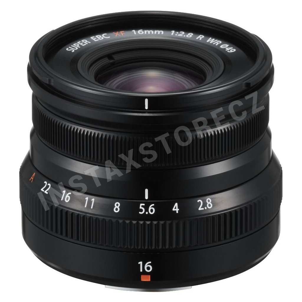 xf16mmf2.8 black frontup