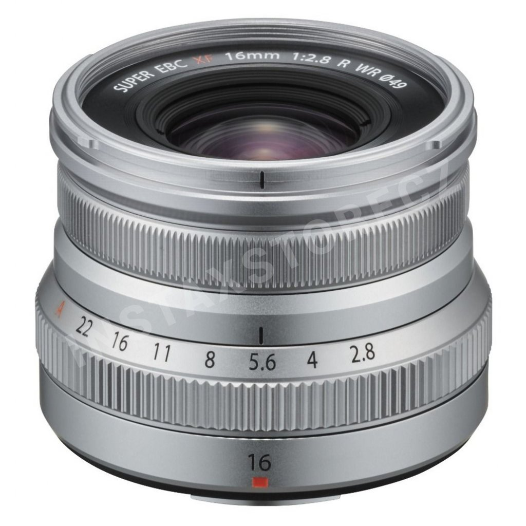 xf16mmf2.8 silver frontup
