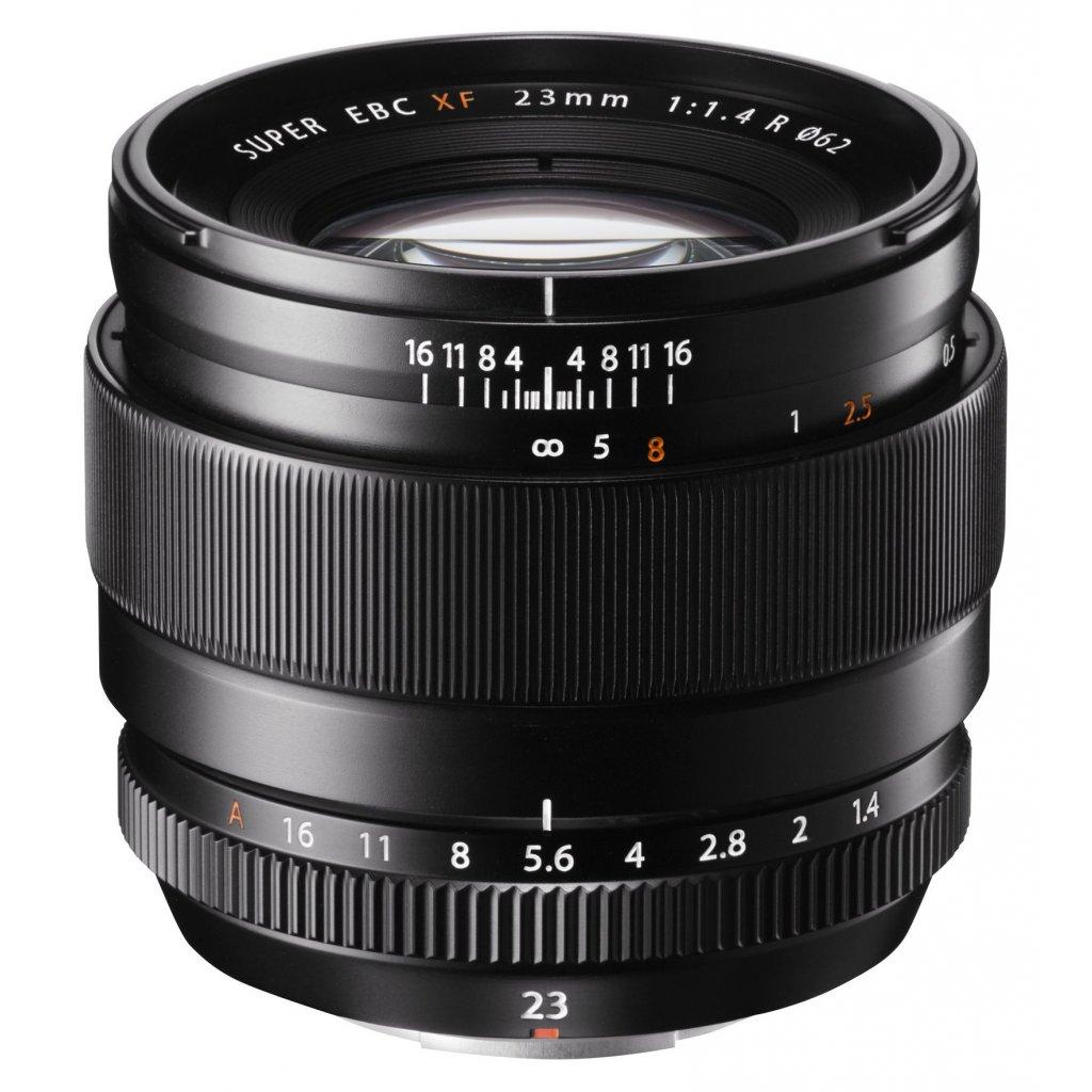 lens 23mm black front