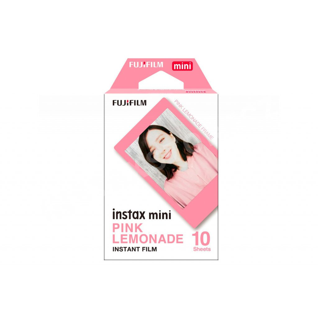 Fujifilm Instax Mini film 10ks Pink Lemonade