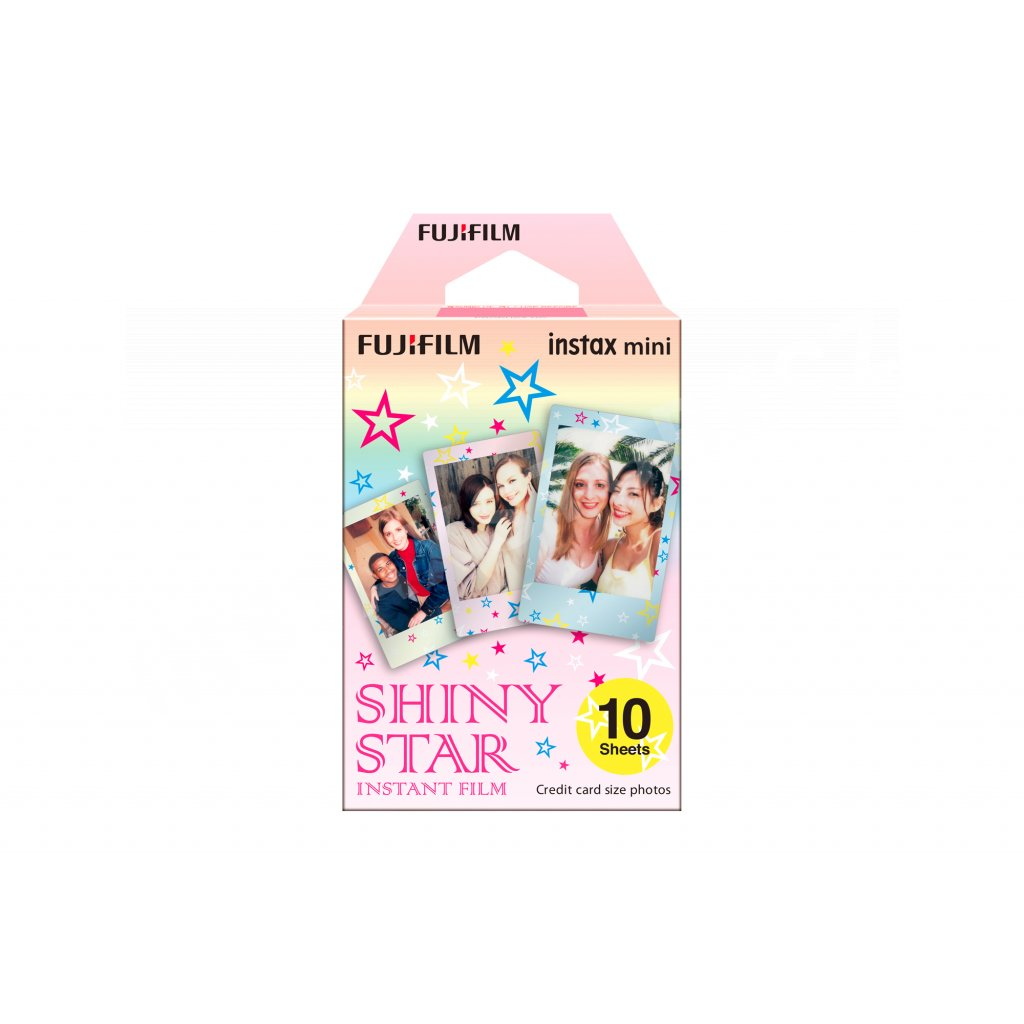 Fujifilm Instax Mini film 10ks Shiny Star