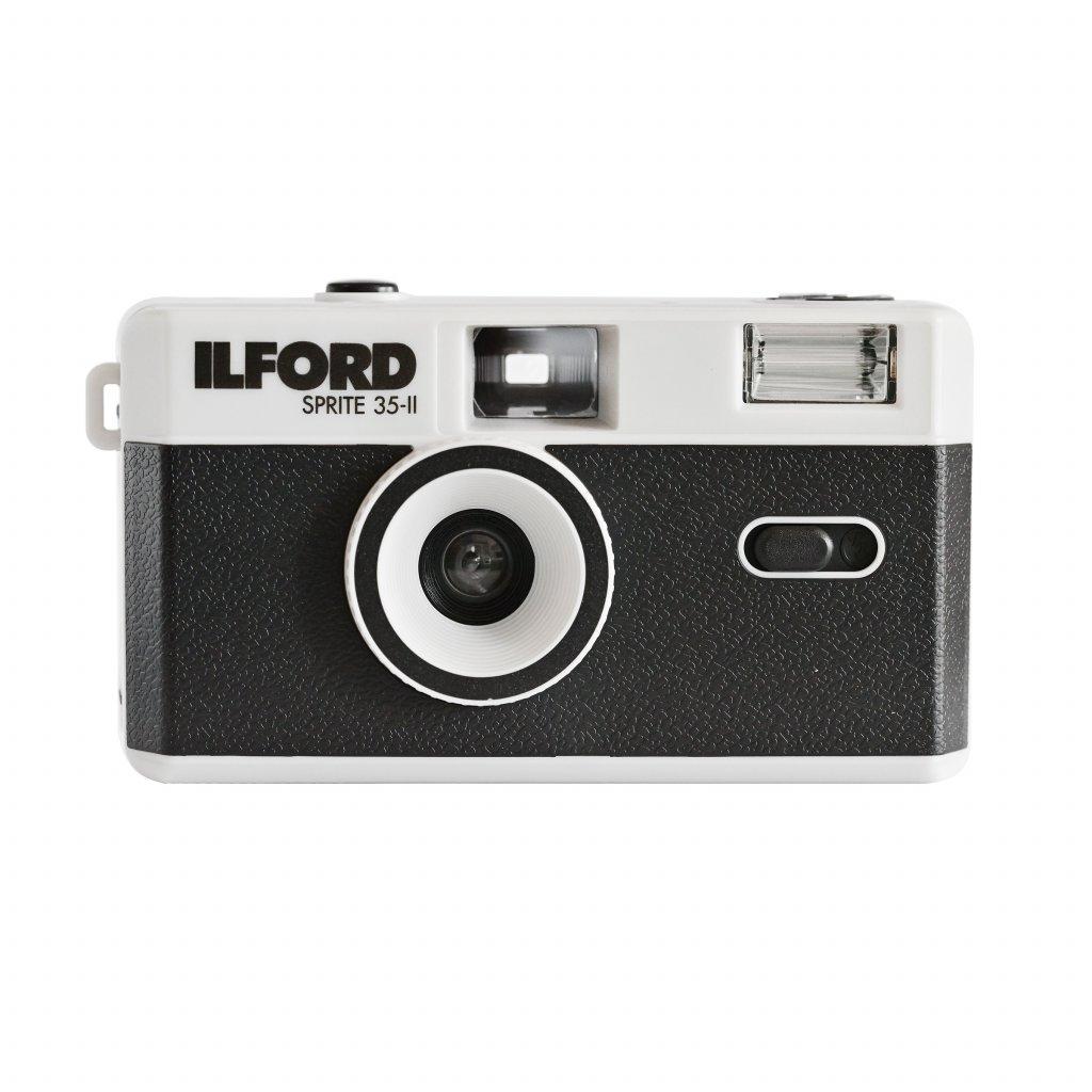 Ilford Sprite 35-II Photo Camera Black/Silver (fotoaparát na kinofilm)