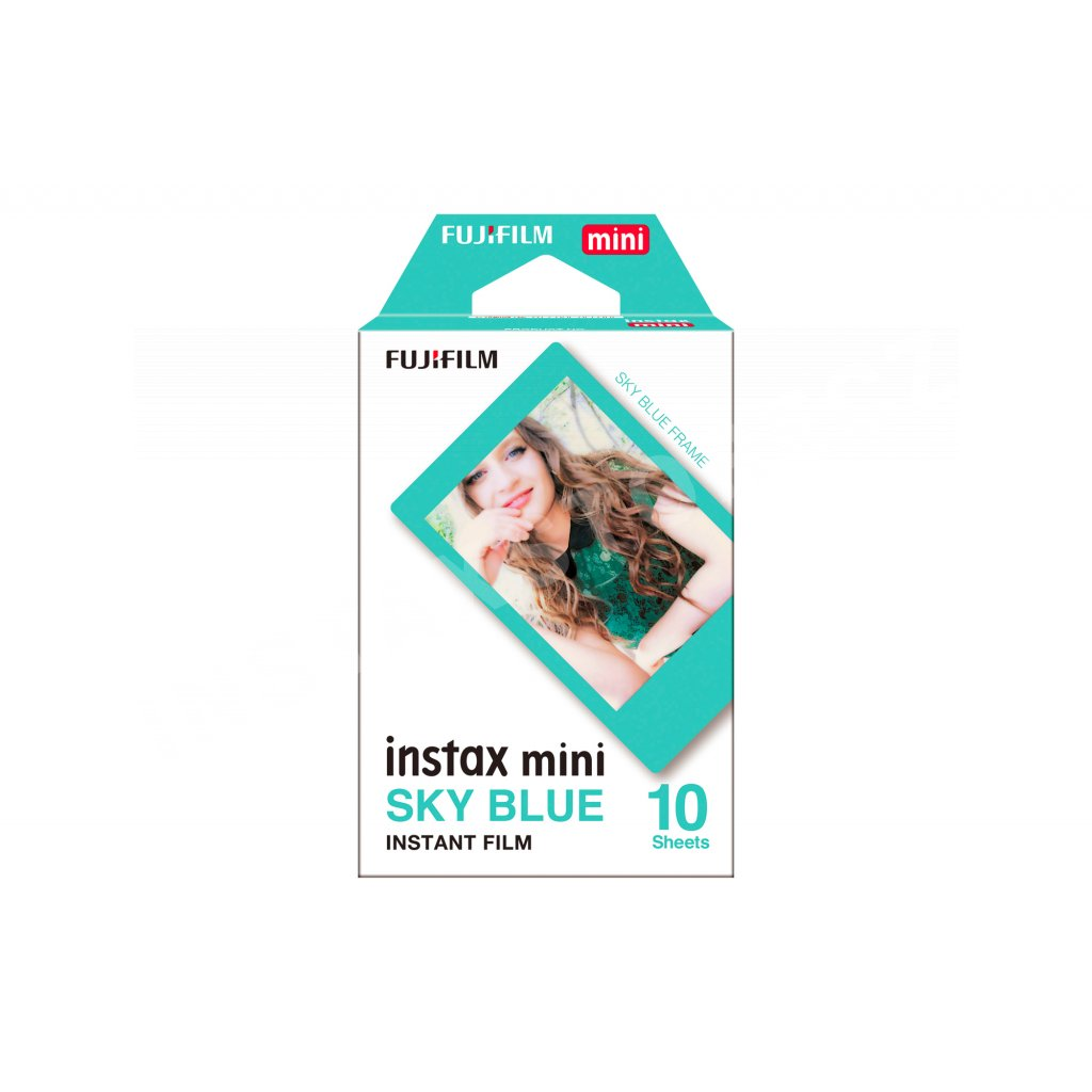 Fujifilm Instax Mini film 10ks Sky Blue