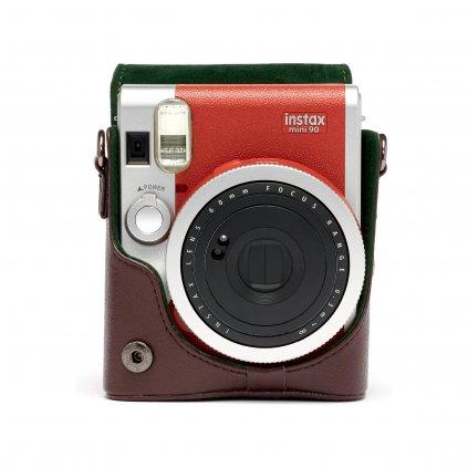 Fujifilm Instax Mini 90 Leather Case Brown