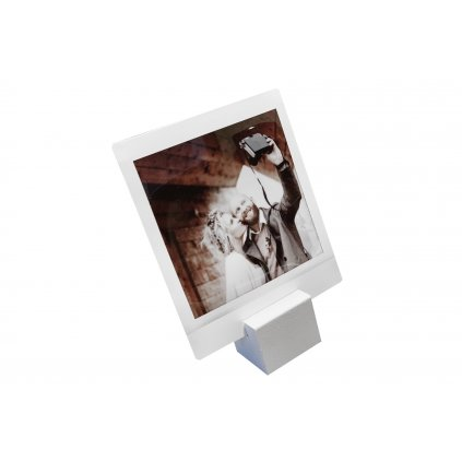 Focus Picture Stand Small White