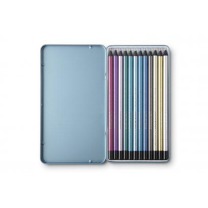 PrintWorks Color Pencils Metallic 12pcs Set