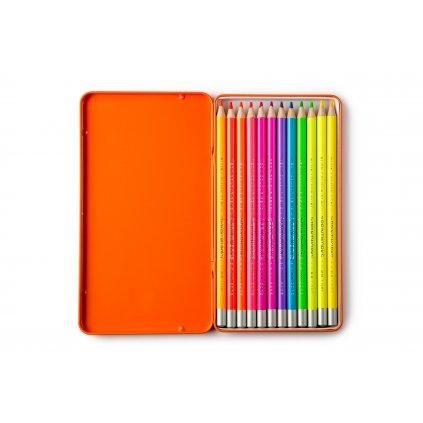 PrintWorks Color Pencils Neon 12pcs Set