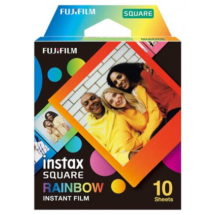 Fujifilm Instax Square film 10ks Rainbow