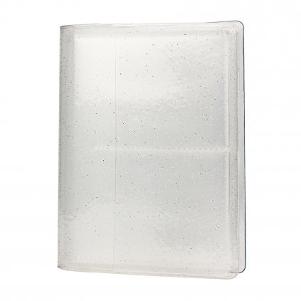 Instax Mini Pocket Album Glitter Clear White