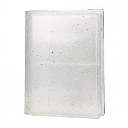 Instax Mini Pocket Album Glitter Clear White