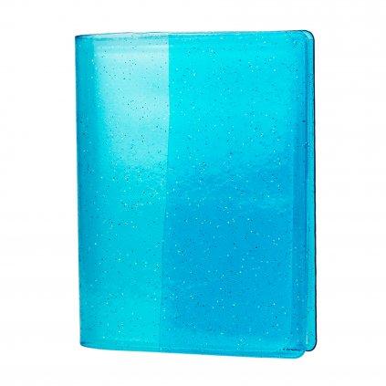 Instax Mini Pocket Album Glitter Clear Blue