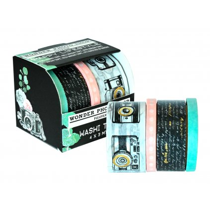 WPS Instax Washi Tape Set 4 Roll Happy Lifestyle