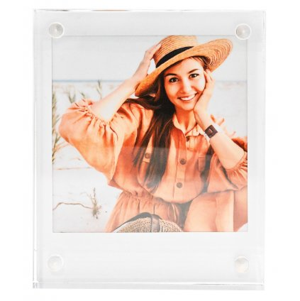 Instax Square Acrylic Photo Frame Block
