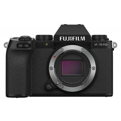 Fujifilm X-S10 Black  + Vlogger Kit (mikrofon, stativ, karta)