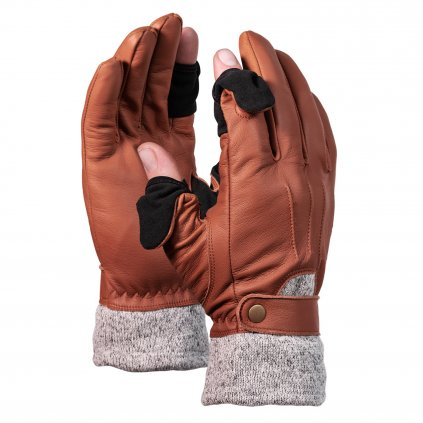 Vallerret Photographic Gloves Urbex Brown (fotografické rukavice)