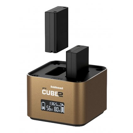 Hähnel ProCube 2 Proffesional Twin Charger for Fujifilm