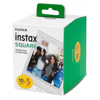 Fujifilm Instax Square film 50 snímků (5x10ks Pack)
