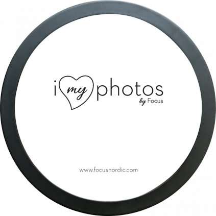 Focus Soul Round Frame Black