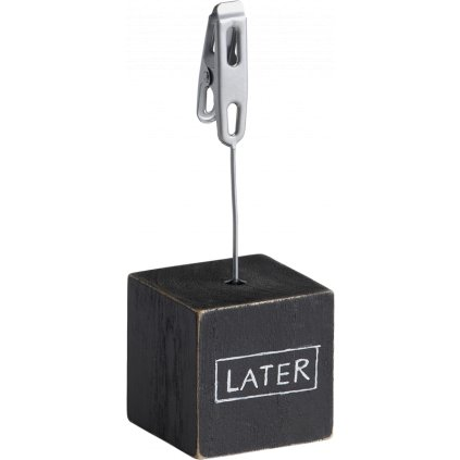 Walther Wood Photo Clip Large Black