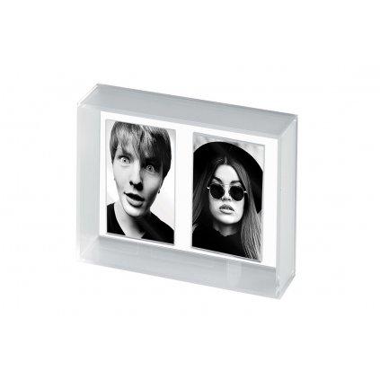 Mascagni Acrylic Instax Mini Double Frame (foto rámeček)