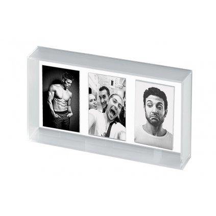 Mascagni Acrylic Instax Mini Triple Frame (foto rámeček)