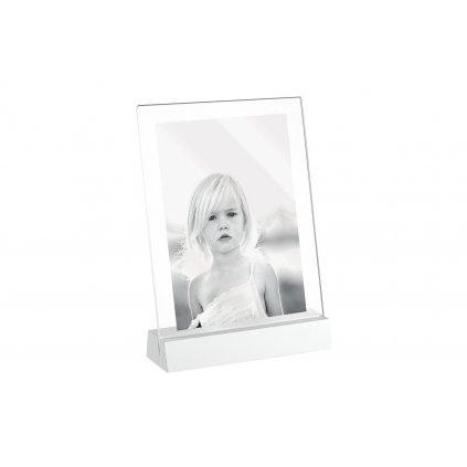 Mascagni Acrylic Frame with Stand 13x18 White (stánek s rámečkem)