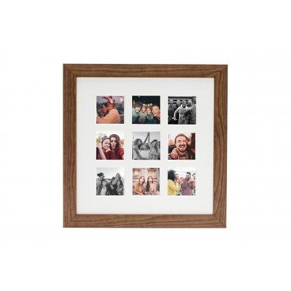 Instax 9 Square Aperture Frame Oak (fotorámeček)