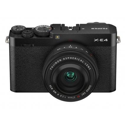 Fujifilm X-E4 + XF27mm F2,8 R WR Black Kit (tělo a objektiv)