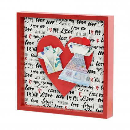 Hama Photo Frame LOVE 21x21cm Red