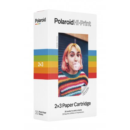 Polaroid Hi-Print 2x3 Paper Cartridge 20 snímků (termo fotopapír)