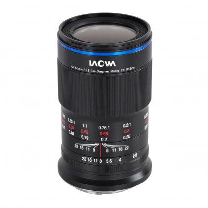 Laowa 65 mm f/2.8 2X Ultra Macro APO (objektiv X-mount)