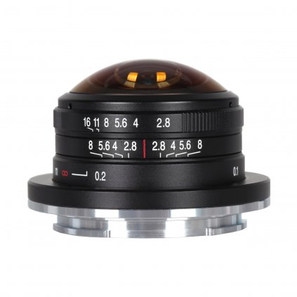 Laowa 4 mm f/2,8 Fisheye (objektiv X-mount)