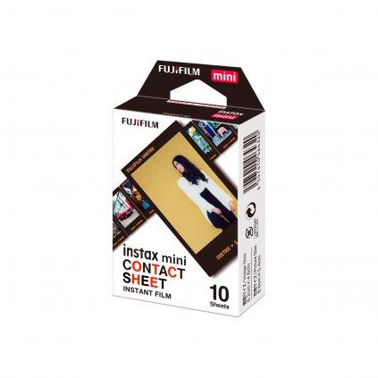 Fujifilm Instax Mini film 10ks Contact Sheet