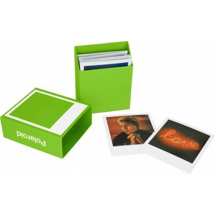 Polaroid Photo Box Green (krabička na snímky)