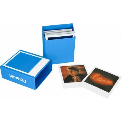 Polaroid Photo Box Blue (krabička na snímky)