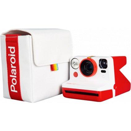 Polaroid Now Bag White & Red (brašna)