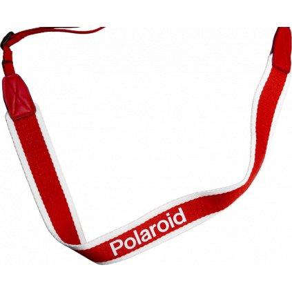 Polaroid Strap Flat Stripe Red (popruh)